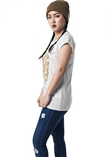 Mister Tee Mujeres Ropa superior / Camiseta MC032 blanco