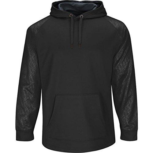 Athletic Hood Majestic (Majestic Men's Home Plate Hooded Tech Fleece Pullover)