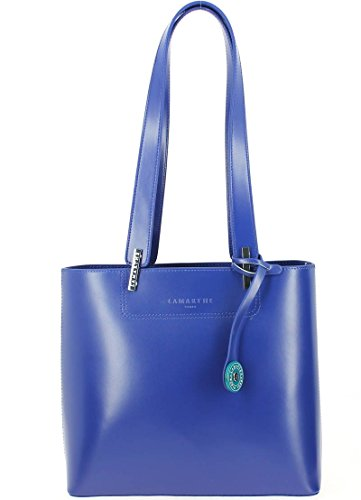 Sac épaule LAMARTHE Portofino Nero Bleu