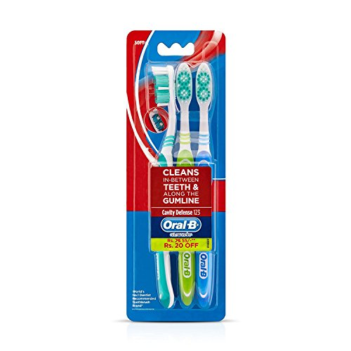 Oral B – The Complete Toothcare Mouthcare Range of toothbrushes – Ultrathin Sensitive – Sensitive whitening – Cavity Defense – Pro Health (Cavity Defense – Gumline care)