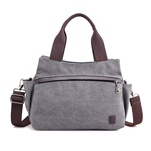 Bag Voyage Crossbody Gray Toile Sacs De Mode Messenger Épaule Casual CHENGYI Dames Satchel q0pUU1