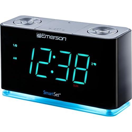 Emerson ER100301 SmartSet Alarm Clock...