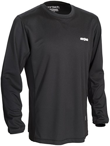 Cortech Journey Coolmax Crew Neck Base Layer Top (MEDIUM) (MEDIUM)