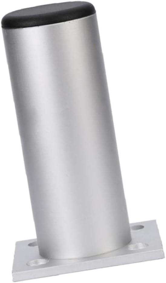 Fácil De Instalar Patas De Metal Para Muebles Patas Modernas Para Mesas Sofá Sofá - Aleación de aluminio redonda, 10cm