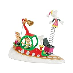 Grinch from Department 58 Who\'s With Their Toys