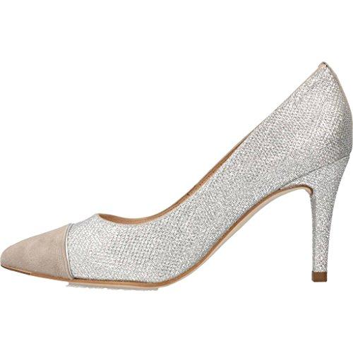 UNISA Scarpe Tacco Alto, Color Argento, Marca, modelo Scarpe Tacco Alto Trico EV Argento