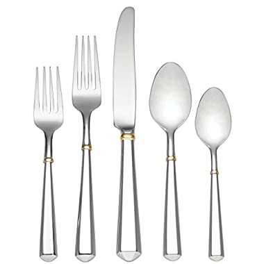 kate spade new york Todd Hill Gold 5-Piece Flatware Place Setting