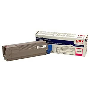 Okidata 43324402 Toner Cartridge, F/ C5500/5800 Series, 5000 Page Yield, Magenta