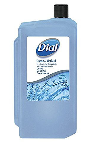 Body Wash Refill (Dial Body Wash, Spring Water, 33.8oz Refill Cartridge)