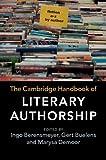 The Cambridge Handbook of Literary Authorship