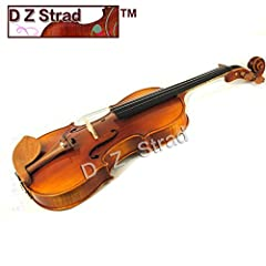 This beautifully hand carved violin is finished with a quality spirit varnish to bring out the best sound from the aged maple wood. Warm and round tone, playability, hand-feel and consistency will keep you motivated. This outfit includes a ca...