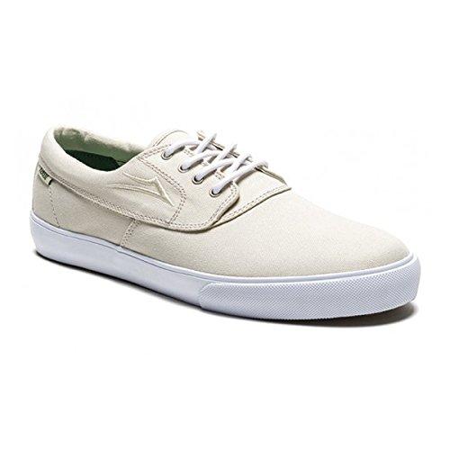 Lakai limitada Camby Skate zapatos crema/lienzo