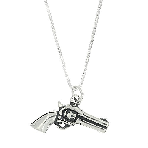 Sterling Silver Pistol - 7