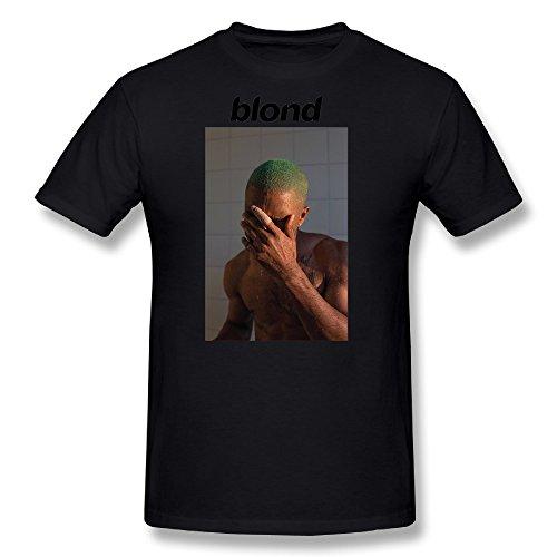FENGTING Men's 2016 Frank Ocean New Album Blonde T-shirt Size S Black