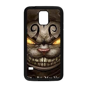 ORIGINE Were All Mad Here Fashion Comstom Plastic case cover For Samsung Galaxy S5