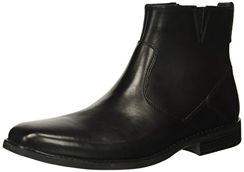 Rockport Mens Traviss Zip Boot Chelsea Boot Nero