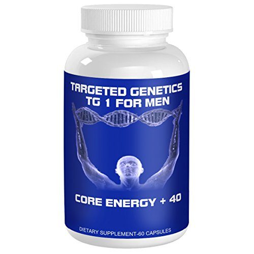 Targeted Genetics Chronic Fatigue Syndrome Supplement CFS and Caffeine Pills for Designed Men 40 and Older. Vitamins for Energy Made for Men with Chronic Fatigue.