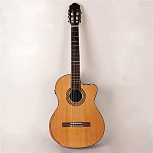 LOIKHGV Gitarre- Massivholz rote Zeder Top Klassische E-Gitarre 39 Zoll 19 Bünde 6 String hochwertige Stimmköpfe…