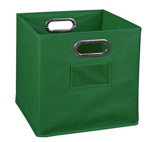Niche Cubo Foldable Fabric Bin- Green