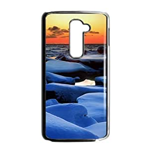 Beautiful winter scenery durable fashion phone case for LG G2