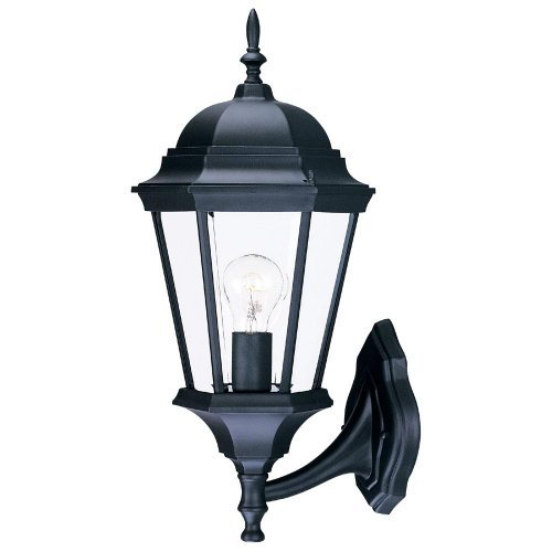 ACCLAIM 5250BK SD Richmond Collection 1-light Wall Mount Outdoor Light FIXTURE, matte nero by ACCLAIM