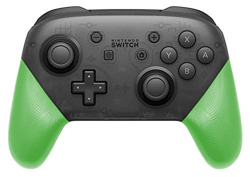 (DIY Replacement Grip Shell for Nintendo Switch Pro Controller, Colorful Anti-Slip Hand Grip Shell Cover for Nintendo Switch Pro Controller with a Screwdriver (Green))