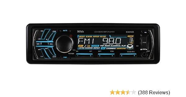 amazon com boss audio 650ua single din cd mp3 player receiver Rebel Wiring Harness amazon com boss audio 650ua single din cd mp3 player receiver, detachable front panel, wireless remote car electronics