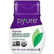 Pyure Organic Liquid Stevia Sweetener, Simply Sweet, 1.8 Fluid Ounce
