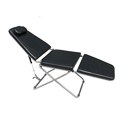 Dental Foldable Lounge Chair - Medical Mobile Dental Chair for Clinic by Qinhan