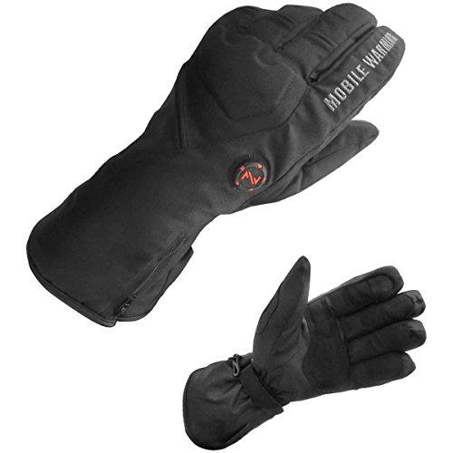 Geneva Buttons - Mobile Warming Unisex-Adult Geneva Textile Heated 7.4v Gloves Black Medium