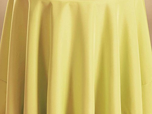 Bright Settings Fabric Sample - Flame Retardant Basic Polyester Solid Colors-Maize