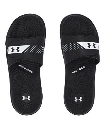 Slide Womens Armour Black EV G Micro III White Under nfYxdw5qw