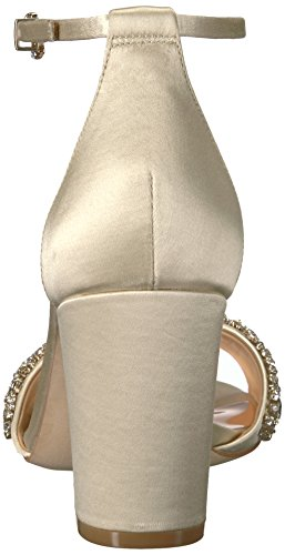 fashionable for sale discount lowest price Badgley Mischka Women's Hines Heeled Sandal Ivory 7qP6LA1