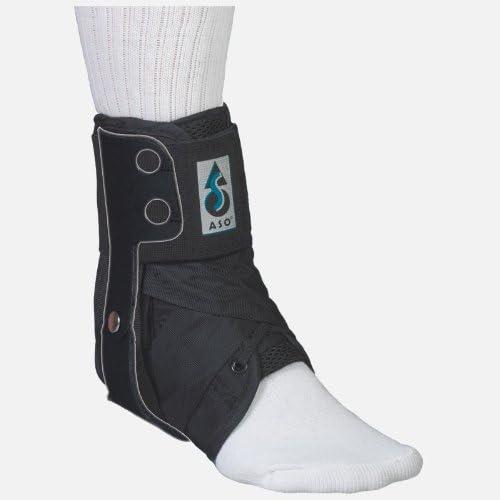 Med Spec ASO Ankle Stabilizer Orthosis Flex Hinge, Black, Large 41ZnC7UPXgL