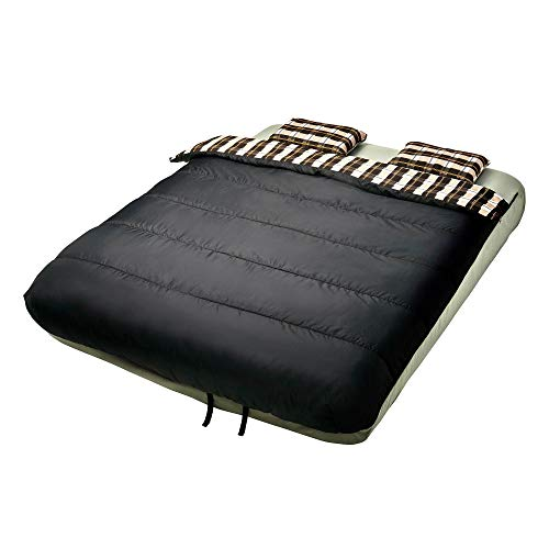 Insta-Bed 6 Piece Bedding for Queen Sized Airbed (Not Included) In and Outdoor (Sheets Air Mattress)