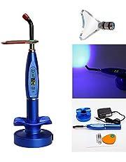 BoNew-Oral - Lámpara de curación inalámbrica sin cable de 5 W LED de gran potencia, 1500 mW/cm2, color azul