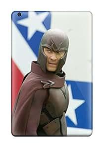 New Magneto : Days Of Future Past Movie Tpu Case Cover, Anti-scratch TrcsQeo5323tRynS Phone Case For Ipad Mini/mini 2