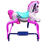 American Classic Toy Pinky Pony The Wonder Horse Ride On, Pink/Blue