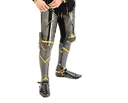 Knight Leg Armor (Medieval Knight Steel Full Leg)