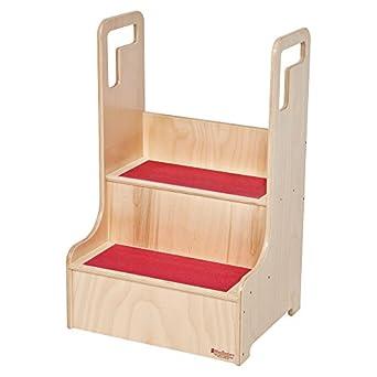 Wood Designs Step-Up-N-Wash Stool