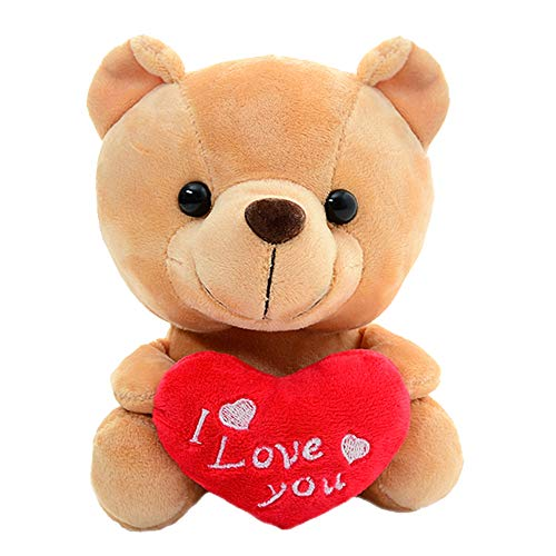 "Gloveleya Plush Teddy Bear with Heart I Love You''Lover's Gifts 6"" from Gloveleya"