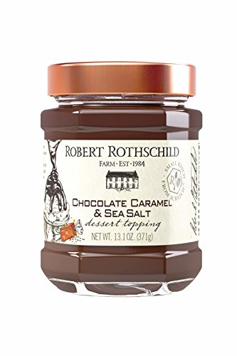 Robert Rothschild Farm Chocolate Caramel & Sea Salt Dessert Topping 13.1 oz