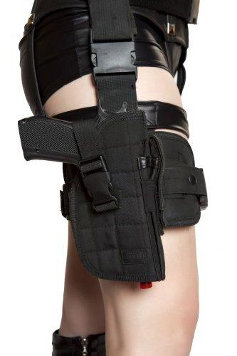 [Roma Women's Gun Leg Holster With Belt Multi One Size Fits Most] (Leg Gun Holster Costumes)