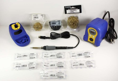Hakko FX888D - Soldering Station with 7 extra tips
