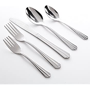 Gibson Home Avenham 24 Piece Flatware Set