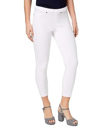 1eaf0308abb21 HUE Women's Original Denim Capri Leggings at Amazon Women's Clothing store: