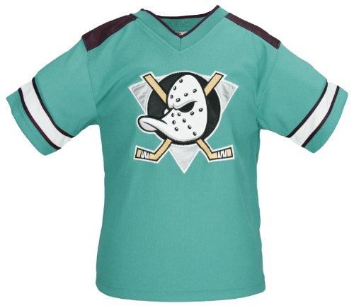 Anaheim Ducks Green (NHL Anaheim Mighty Ducks Toddlers Outerwear Jacket with Hood (4T))