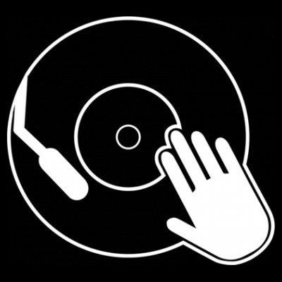 Sudadera con capucha de mujer Scratching Vinyl by Shirtcity Negro