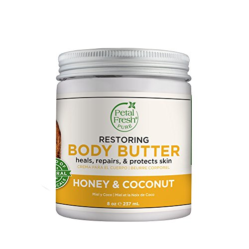 Petal Fresh Body Butter, Honey & Coconut, 8 Fluid Ounce