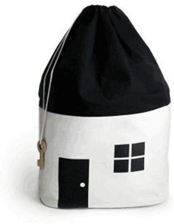 Caja para guardar juguetes, plegable, con forma de cubo, organizador, para habitación infantil, cesta de almacenamiento para juguetes, niños de fieltro Blanco